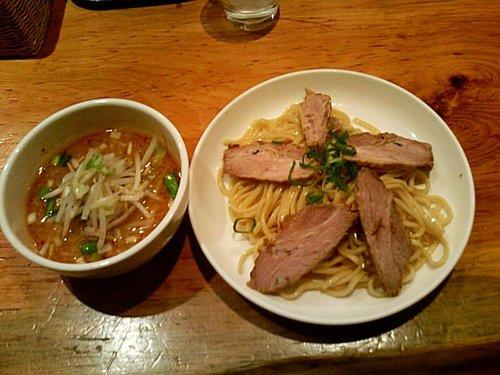 すずらん味噌チャーシュー付け麺